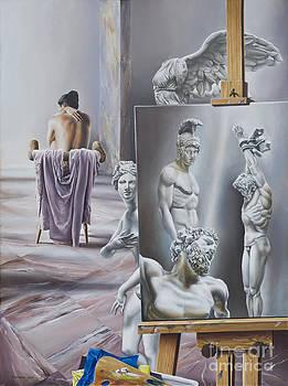 Heros Of Studio by Victor Hagea