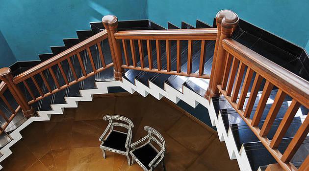 Kantilal Patel - Hexagonal Staircase