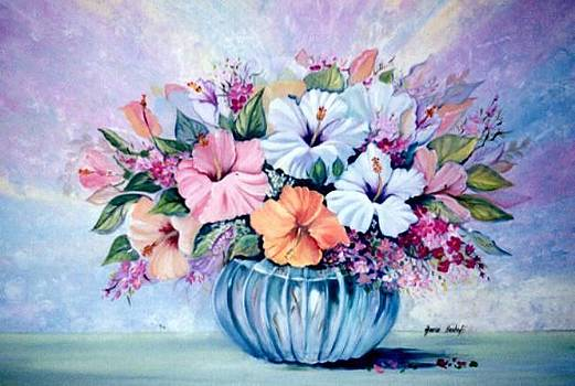 Hibiscus Flair by Ansie Boshoff