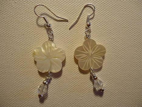 Hibiscus Hawaii Flower Earrings by Jenna Green