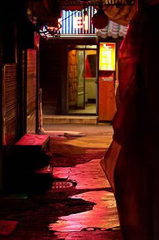 Hidden dark alley by Gabor Pozsgai