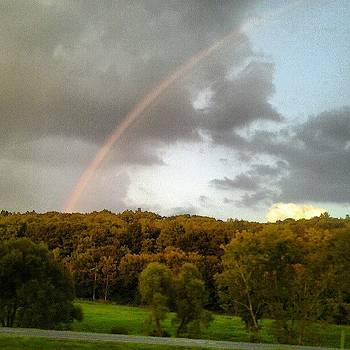 High Contrast Rainbow #rainbow #sky by Haley BCU