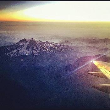 High on Mt Rainier  by Chris Fabregas