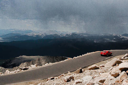 Highest Road in the United States by Tejas Prints
