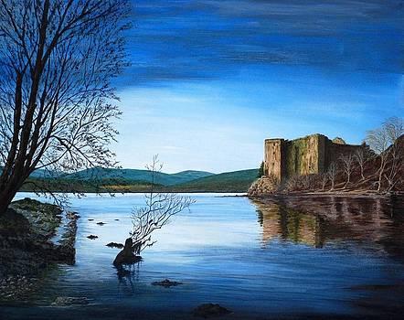 Highland Solitude by Fay Reid