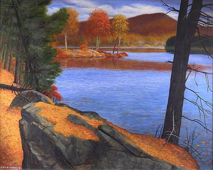 Highlands Octoberscape by Glen Heberling