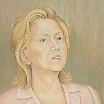 Hillary Clinton by Nasko Dimov