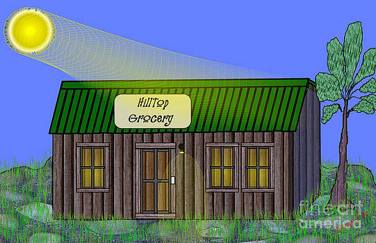 Hilltop Grocery by Dwayne Cain