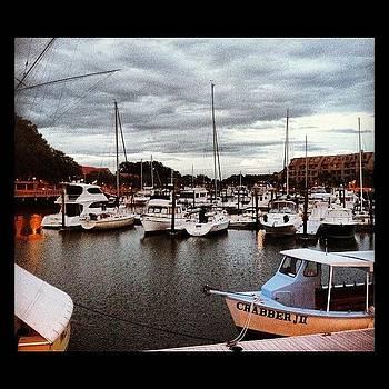 HIlton Head #boats #summernights by Colleen Sullivan