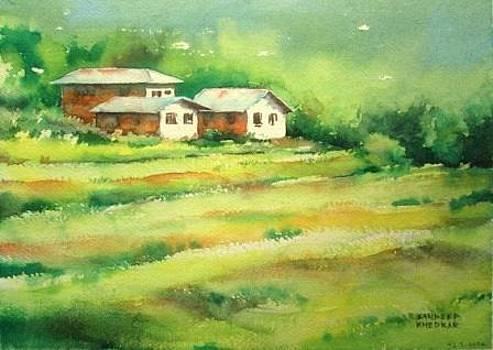 Himachal houses by Sandeep Khedkar