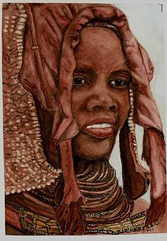 Joan Pye - Himba Woman