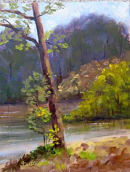 Hinckley Morning by Georgene Carlton