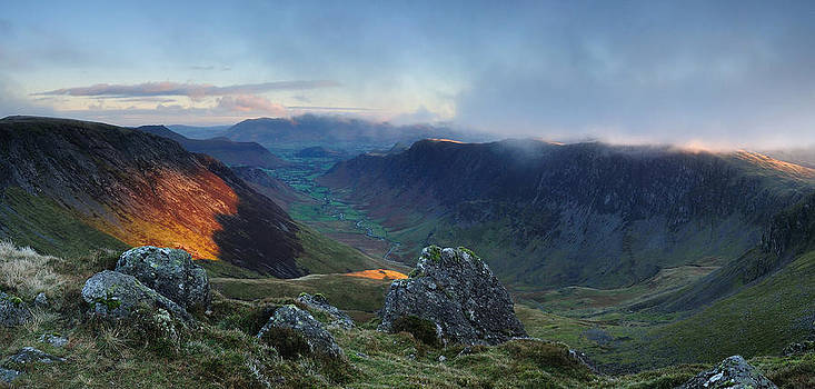 Hindscarth and the Newlands Valley by Stewart Smith