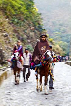 Kantilal Patel - Hindu Pilgrims on Horseback