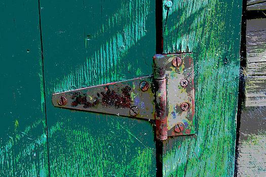 Hinge On A Green Door by Bob Whitt