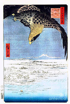 Hiroshige eagle by Theodora Brown