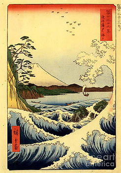 Hiroshige Landscape by Theodora Brown