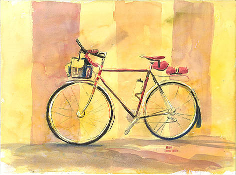 His Bike Remembered by Mimi Boothby