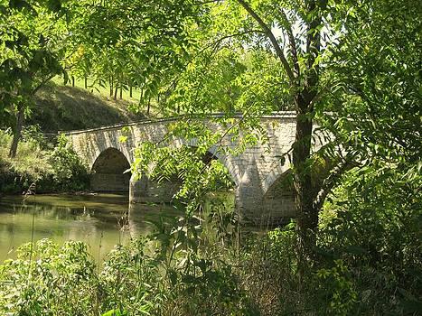 Historic Burnside Bridge by Trish Pitts
