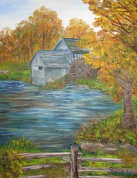 Historic Mabry Mill by Shiana Canatella