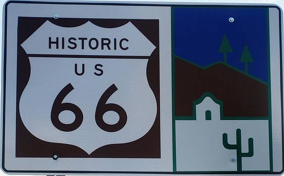 Historic US 66 by Dany Lison