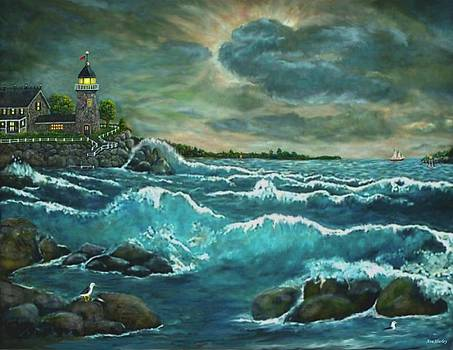 Hobson's Lighthouse by Ave Hurley