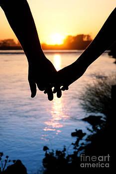 Cindy Singleton - Holding Hands Silhouette