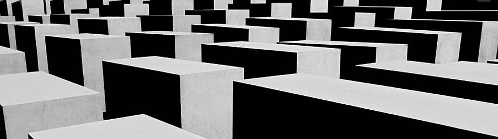 Holocaust Memorial - Berlin by Juergen Weiss