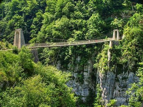 Holzarte Floating Bridge by Alfredo Rodriguez