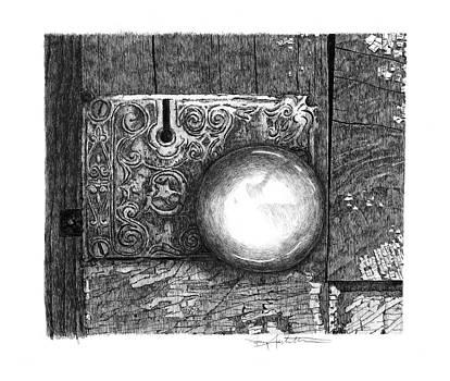 Homestead Doorknob by Gary Gackstatter