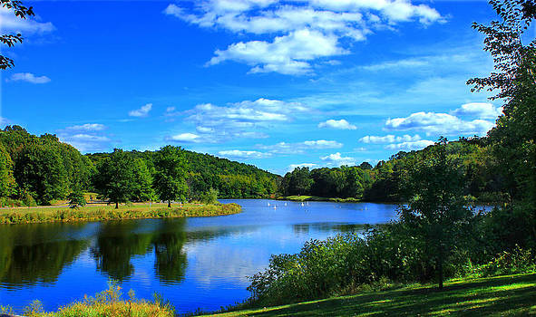Hop Brook Lake by Cathy Leite Photography