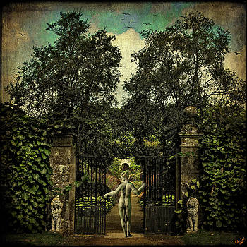 Hope Arrives At The Garden Gate by Chris Lord