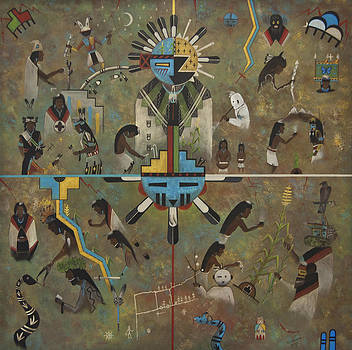 Hopi_Ceremonial Calendar by Filmer Kewanyama