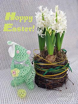Hoppy Easter Says the Bunny by Ausra Huntington nee Paulauskaite