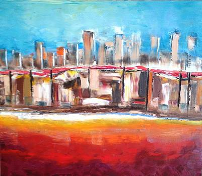 Horizon by Farid  Fakhriddin 60x70 cm