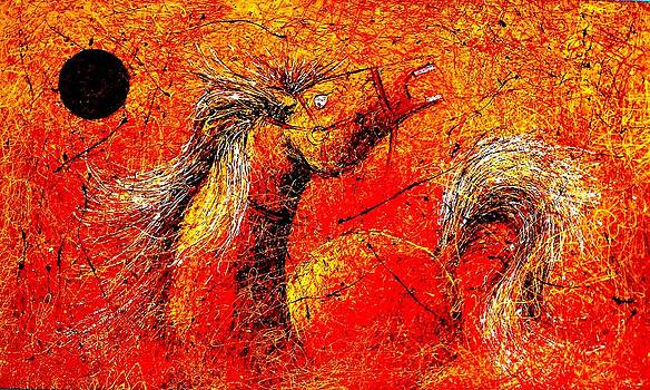 Horse  by Artist Singh