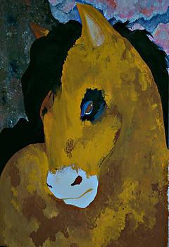 Michelle Cruz - Horse Head Painting