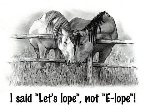 Joyce Geleynse - Horse Humor