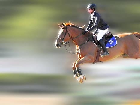 Horse jump by Jesus Nicolas Castanon