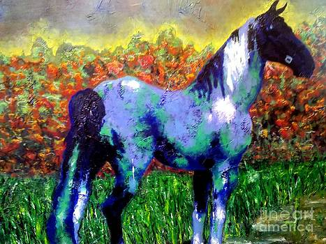 Horse Outside by Crystal N Puckett