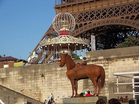 Horse Sculpture by Maggie Cruser