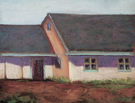 Horse Stables by Joyce A Guariglia