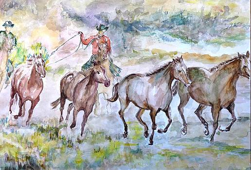 Horsemen by Baruch Neria-Kandel