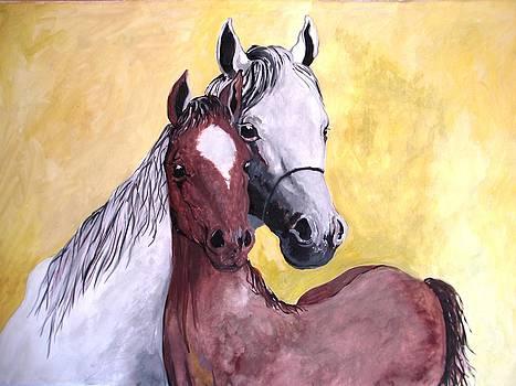 Horses by Sonya Ragyovska