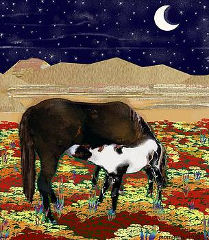 Horses Under the Stars by Dede Shamel Davalos