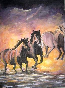 Horses by Usha Rai