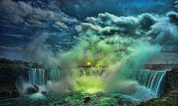 LAWRENCE CHRISTOPHER - HORSESHOE FALLS CANADIAN SIDE NIAGARA