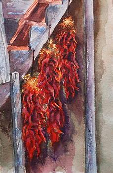 Donna Pierce-Clark - Hot Hot Hot Chili Ristras