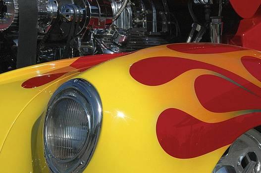 Hot Rod Flames by Ryan Louis Maccione
