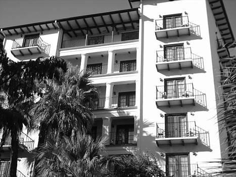Hotel On The Riverwalk by Michaelle Beasley